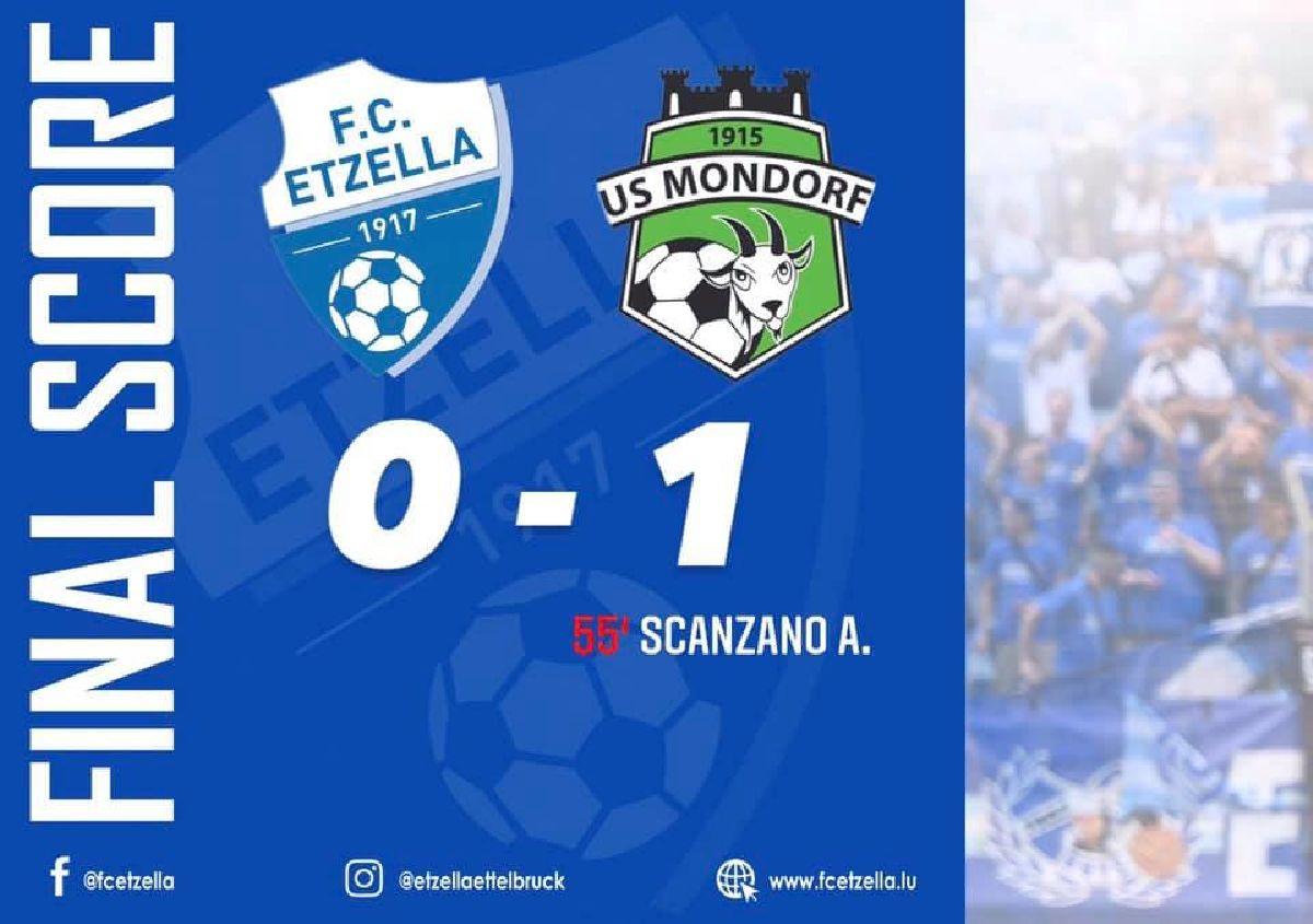 FC ETZELLA - US MONDORF