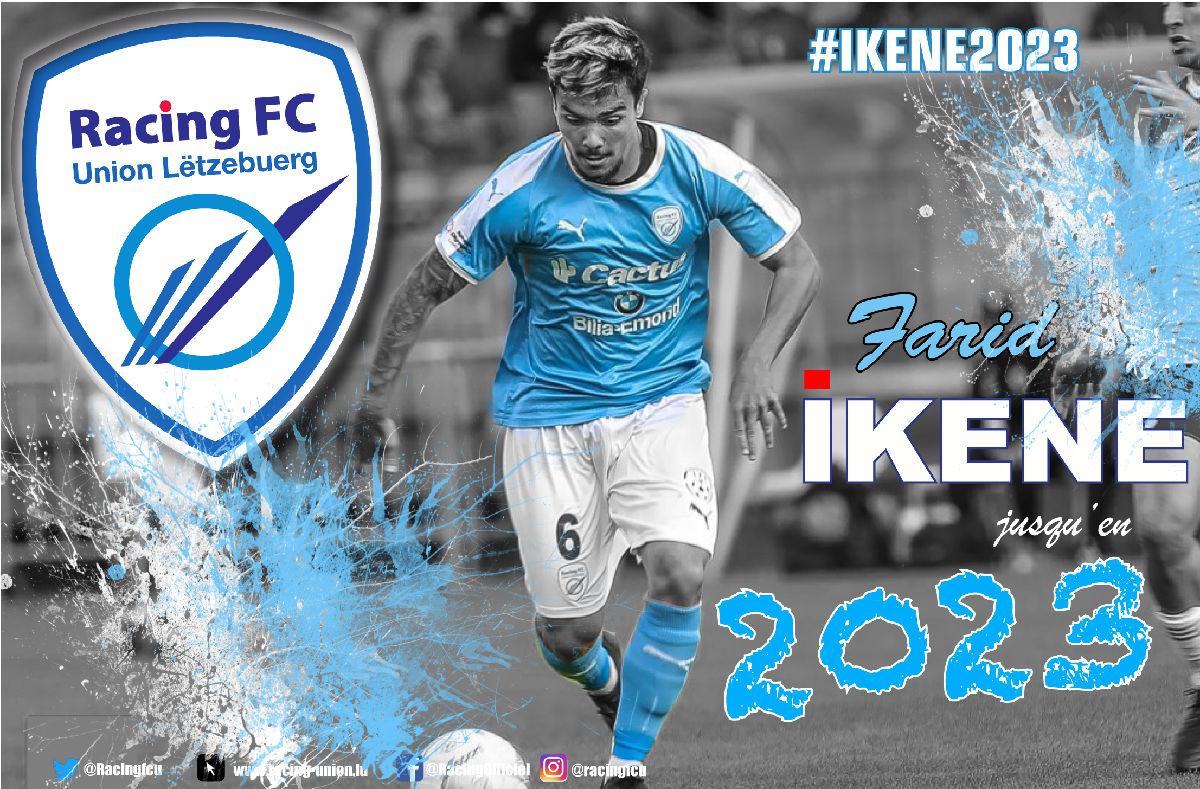 Farid Ikene prolonge jusqu'en 2023