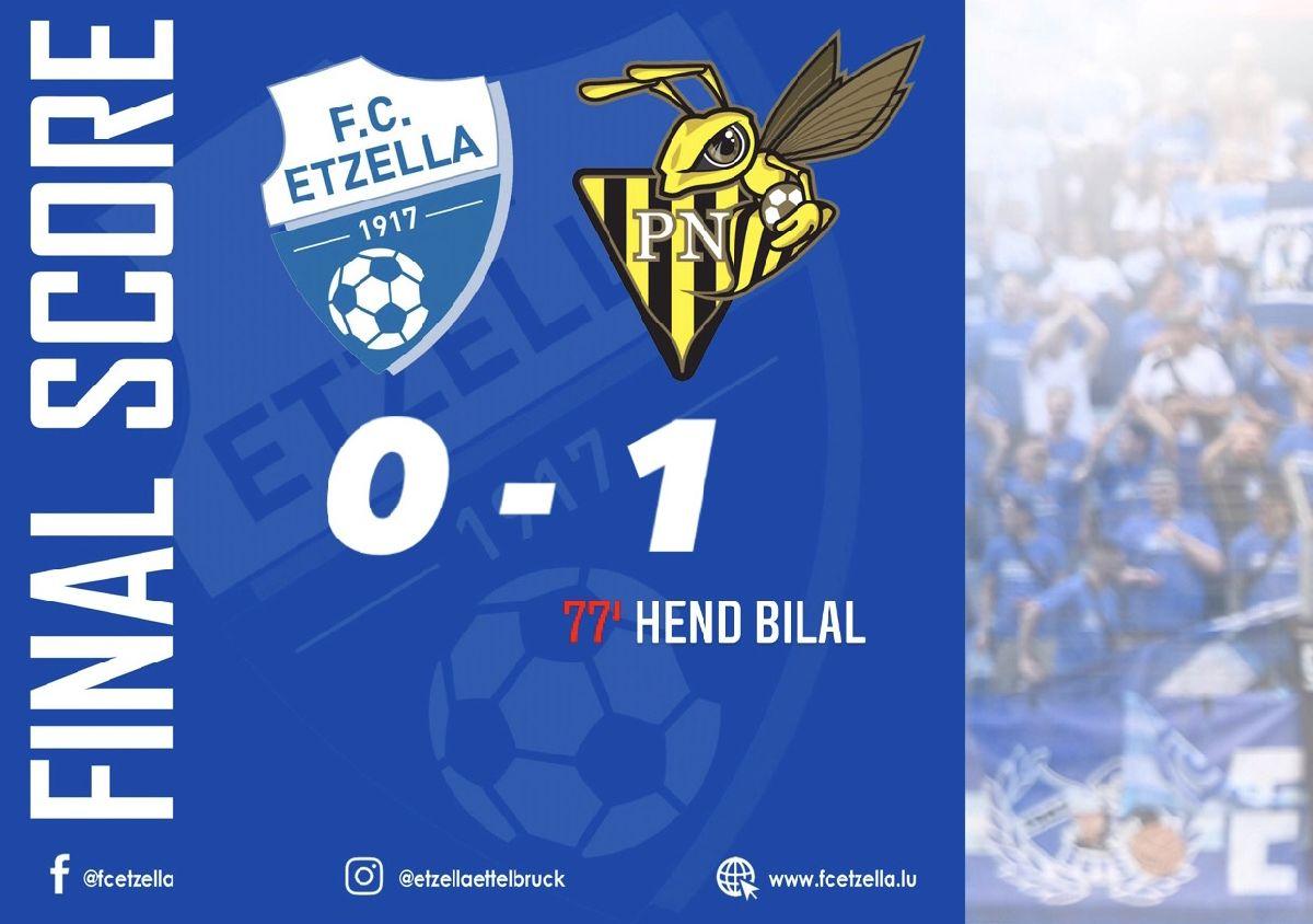 FC ETZELLA 0-1 PROGRÈS NIEDERKORN