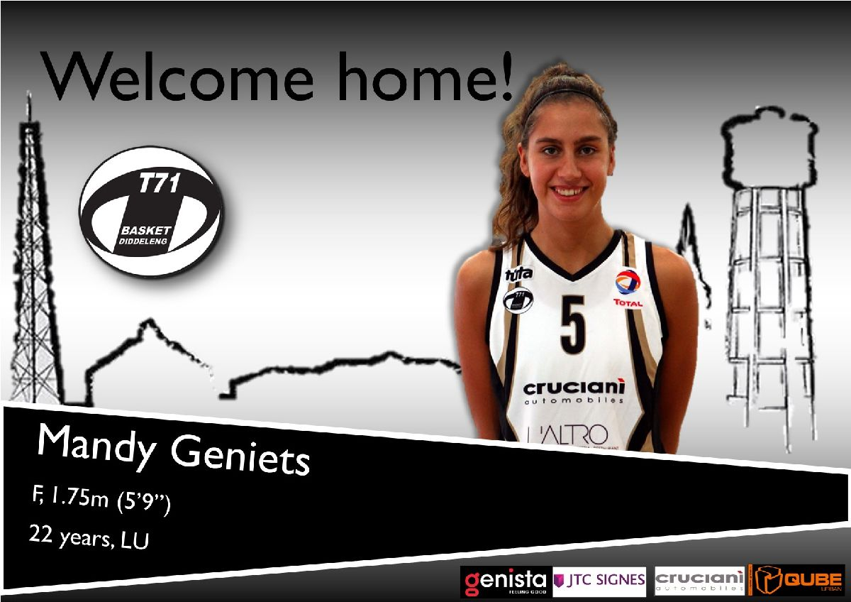 Welcome home Mandy!