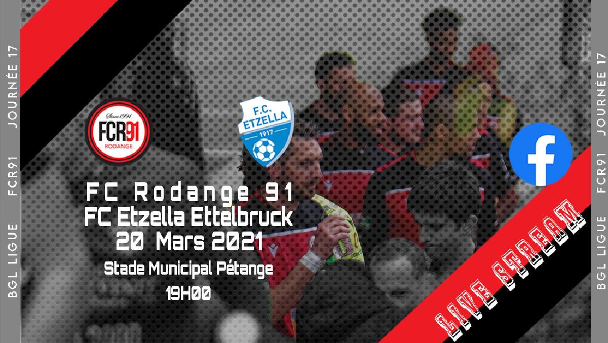 FC Rodange 91 - FC Etzella Ettelbruck