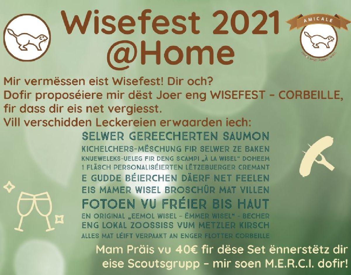 MAMER WISELEN: Wisefest2021@home - CORBEILLE