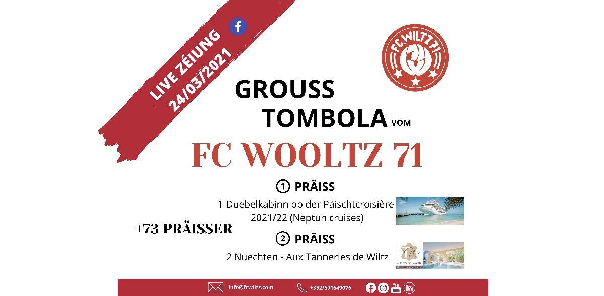 Grouss Tombola: Live Zéiung am Mittwoch 24/03
