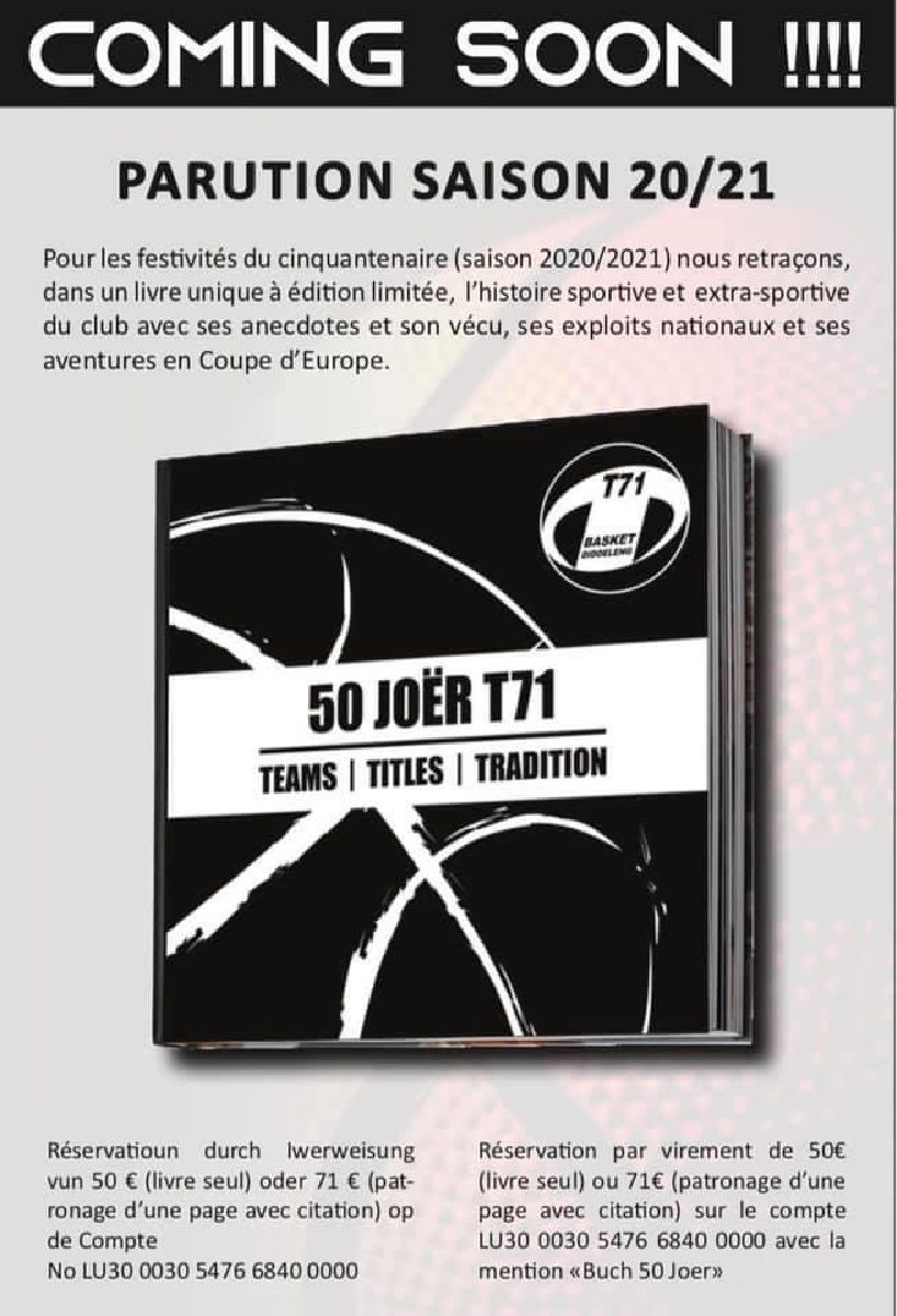 Countdown 50 Joer T71 - Teams, Titles, Tradition