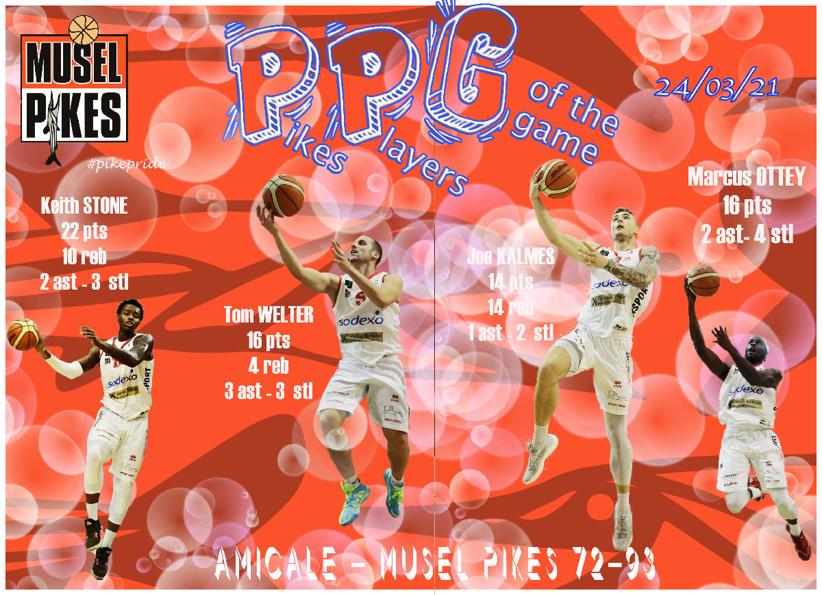 PPG Pikes players of the day