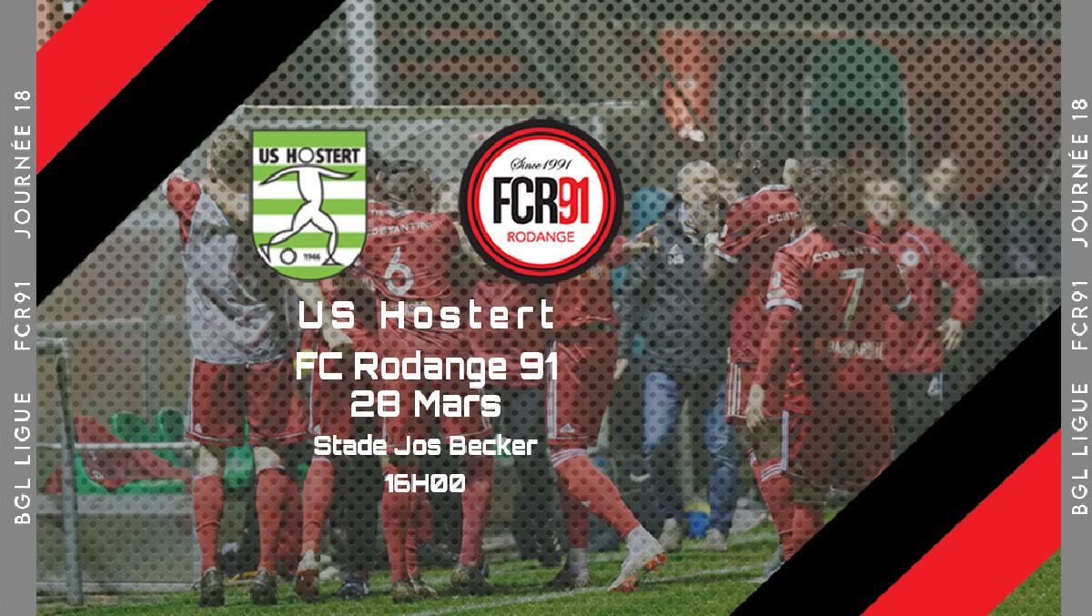 US Hostert -  FC Rodange 91