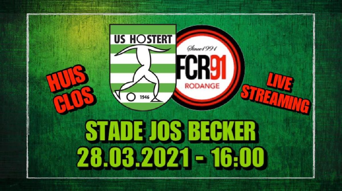 USH - FC RODANGE am LiVE-Stream op RTL.lu !