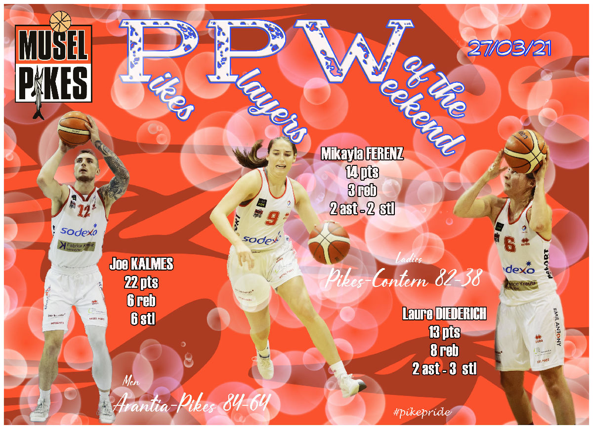 PPW Pikes players of the weekend