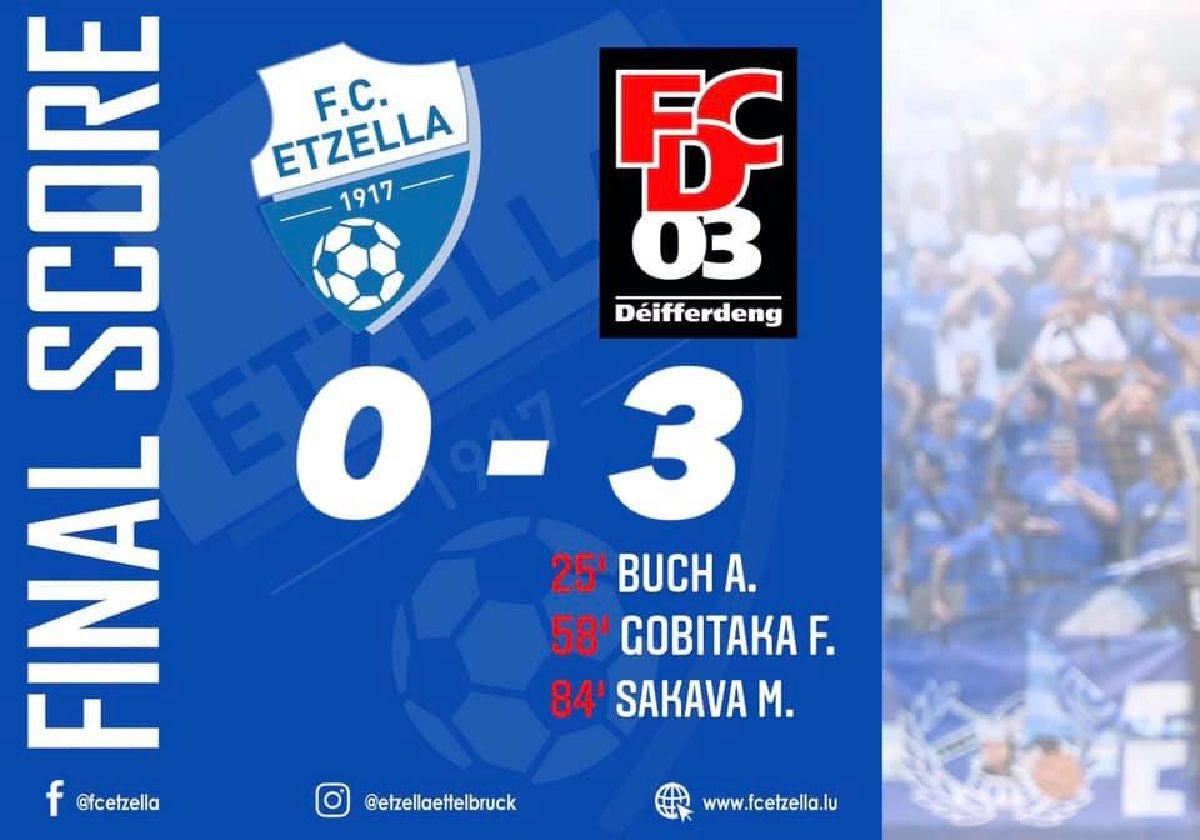 FC ETZELLA 0-3 FC DIFFERDANGE 03