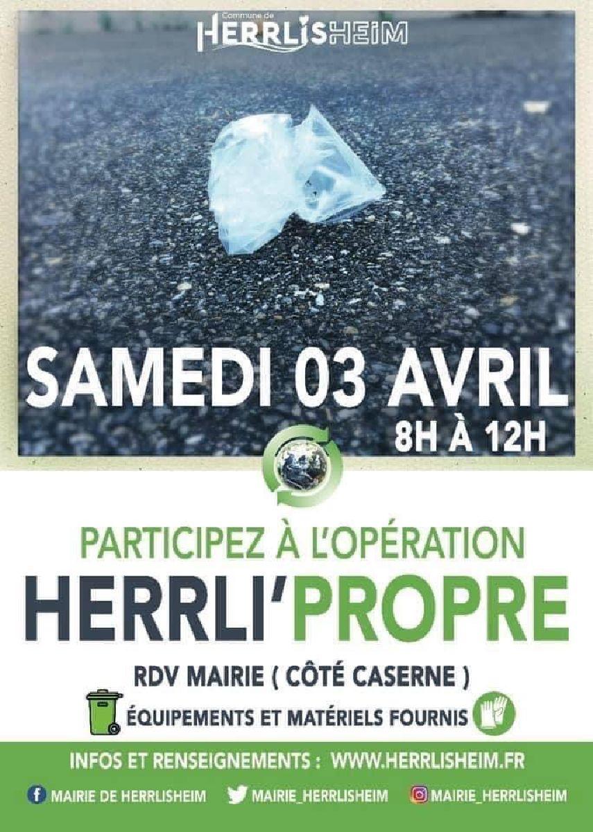 Opération HERRLI' PROPRE