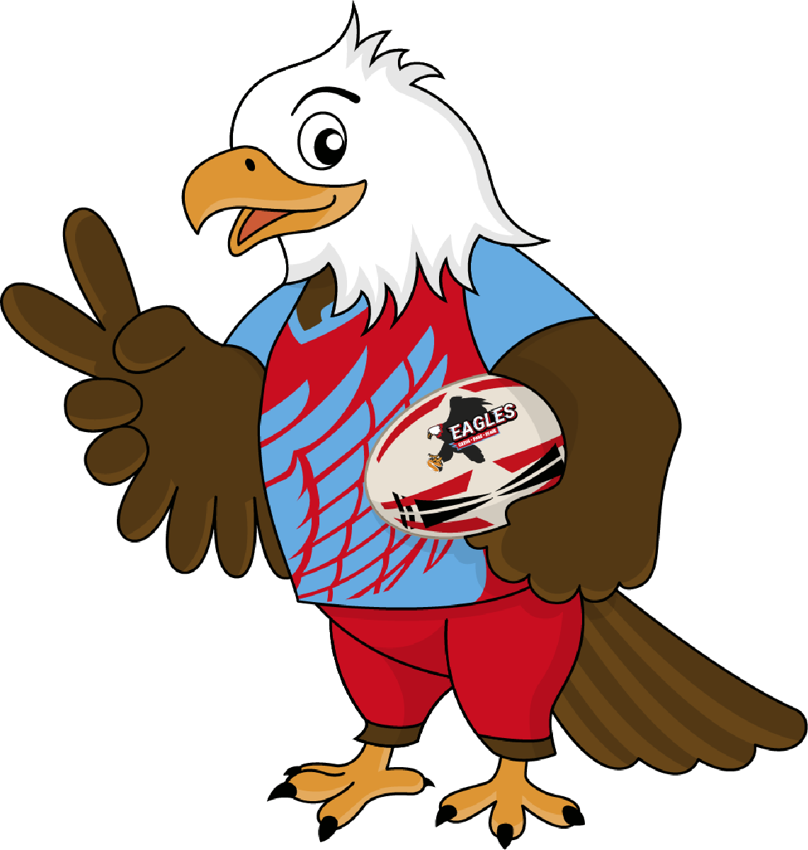 A new member decided to join the Rugby Eagles Luxembourg
