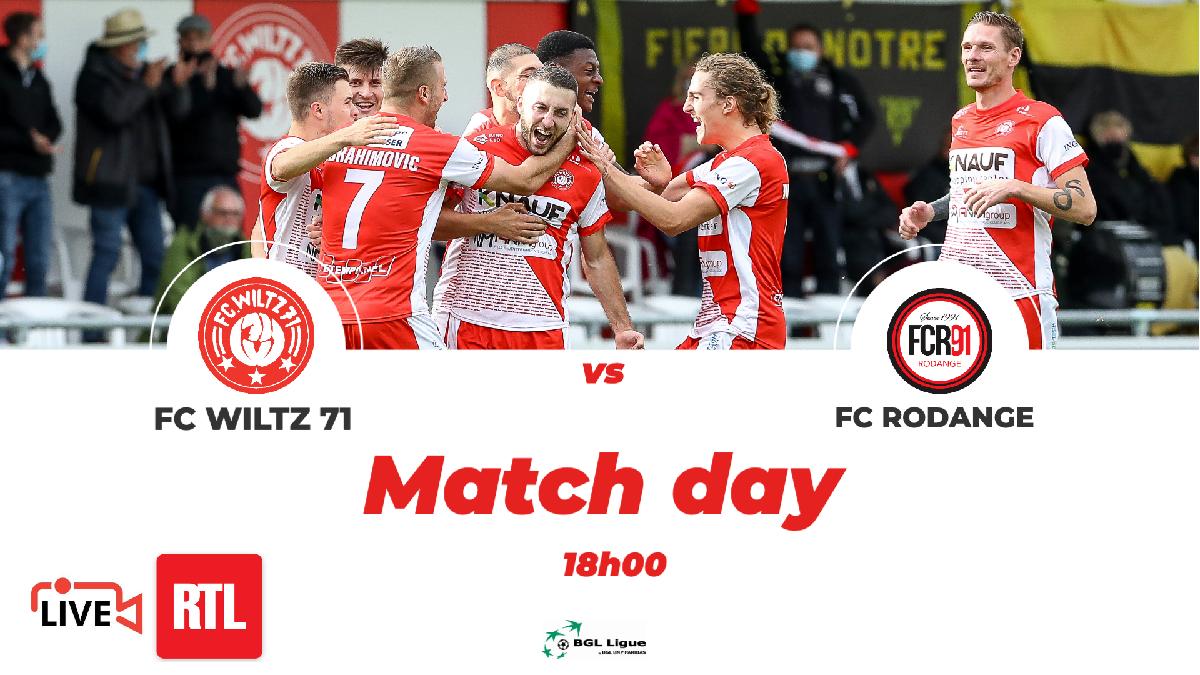 FC WILTZ 71 VS RODANGE - STADIONZEITUNG