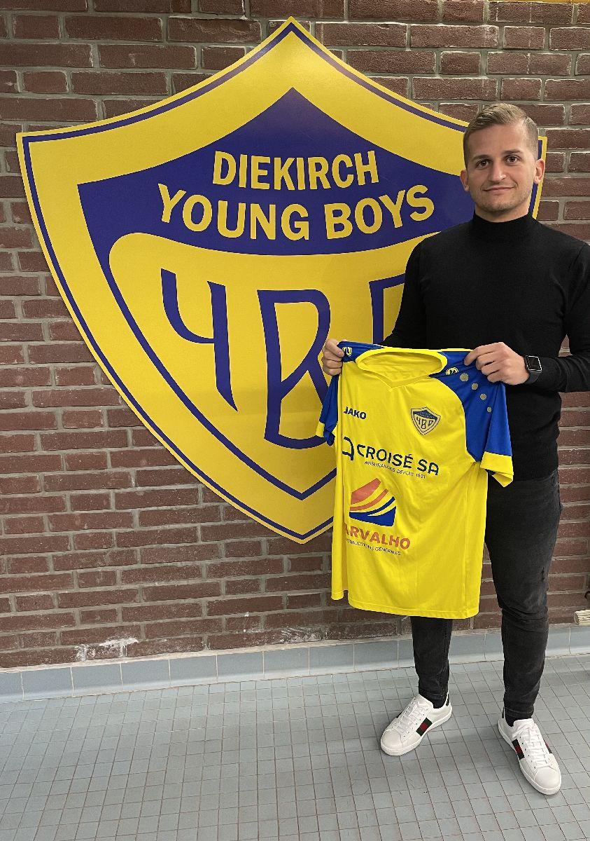 Eischte Transfert beim FCM Young Boys Diekirch
