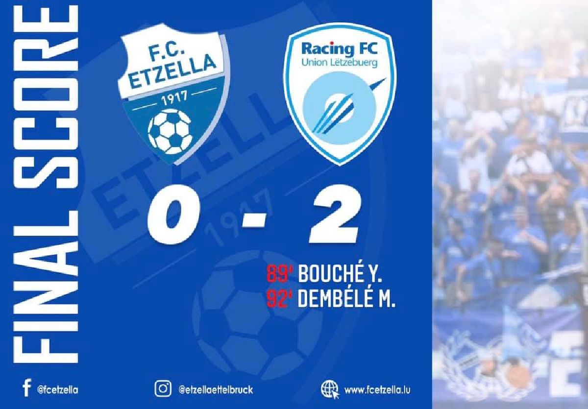 FC ETZELLA 0-2 RACING UNION FC