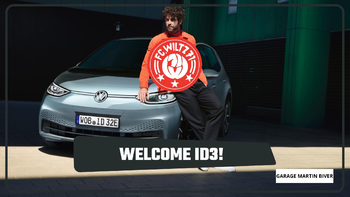 ID3 + ID4 die Fahrzeuge der Zukunft für den FC WILTZ 71