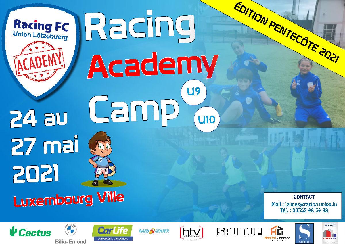 Le Racing Academy Camp reprend en mai !