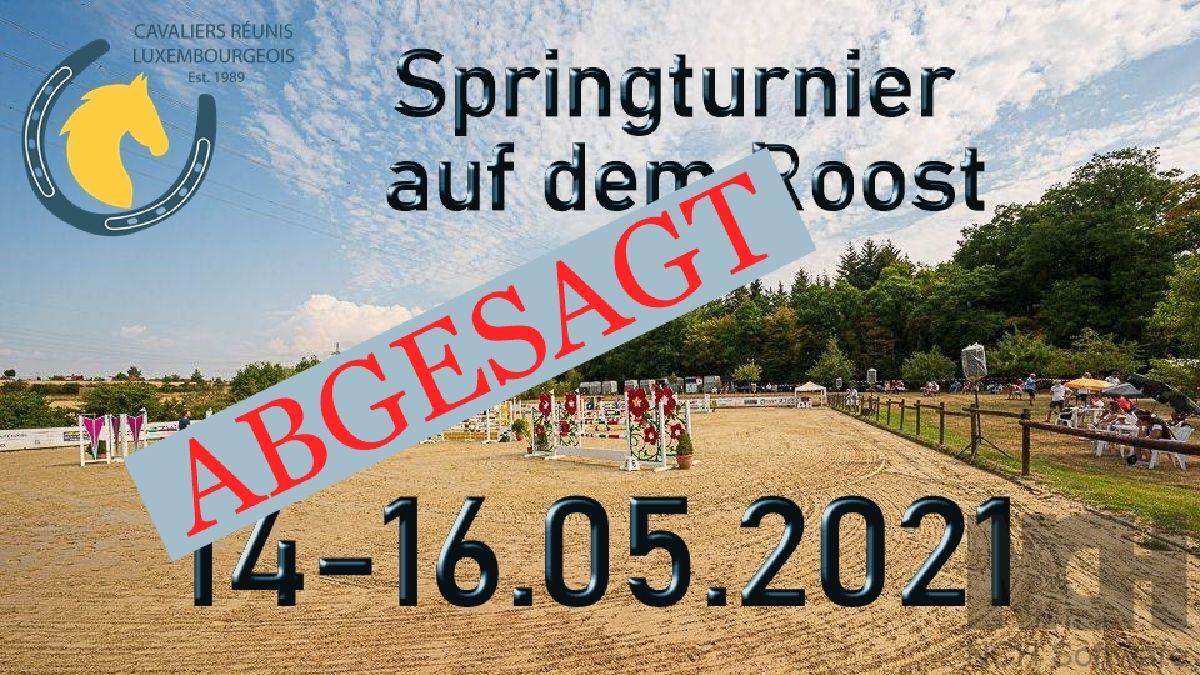 Abgesagt - Springturnier im Mai