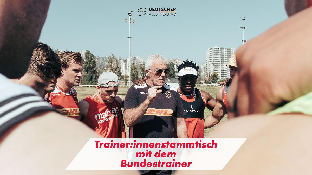 Trainer:innenstammtisch mit dem Bundestrainer