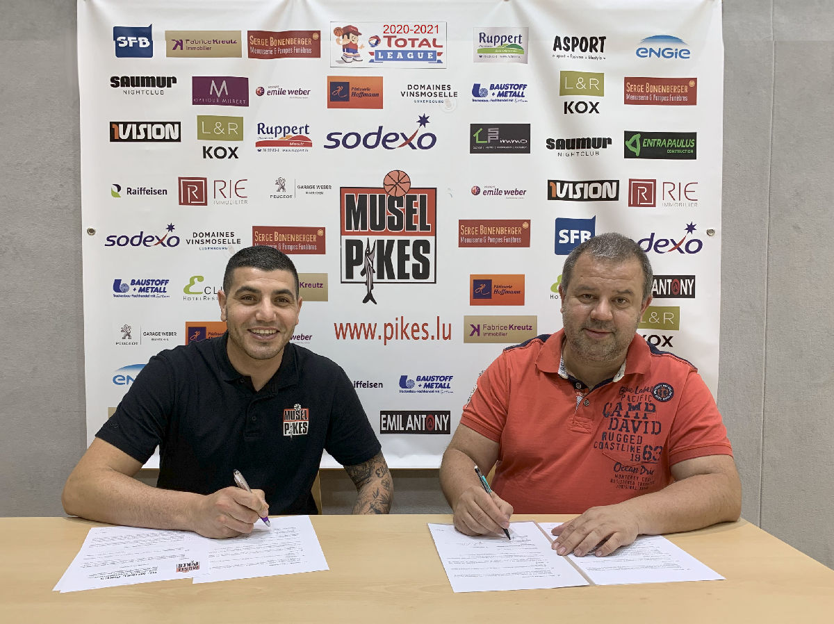 Musel Pikes youth coordinator Majdi ANAN extend his contract