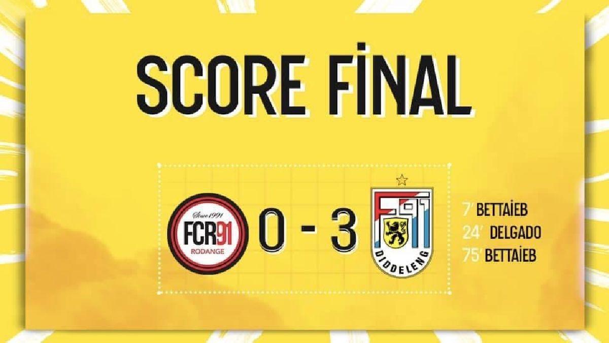 FC Rodange 91 - F91 Diddeleng 0-3