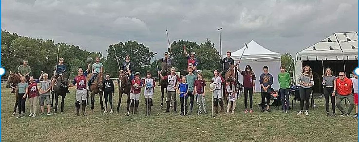 RLPC welcomed 16 kids for a 1-day Youth Polo Camp, organized with the Service des Sports de la Ville