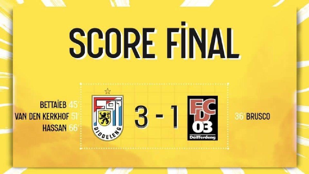 F91 Diddeleng - FC Déifferdeng 03 3-1