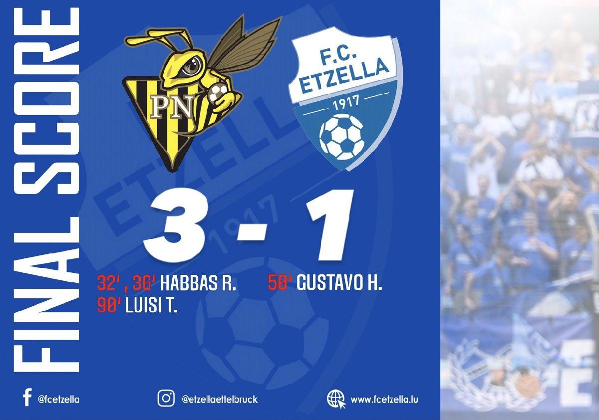 PROGRÈS NIEDERKORN 3-1 FC ETZELLA