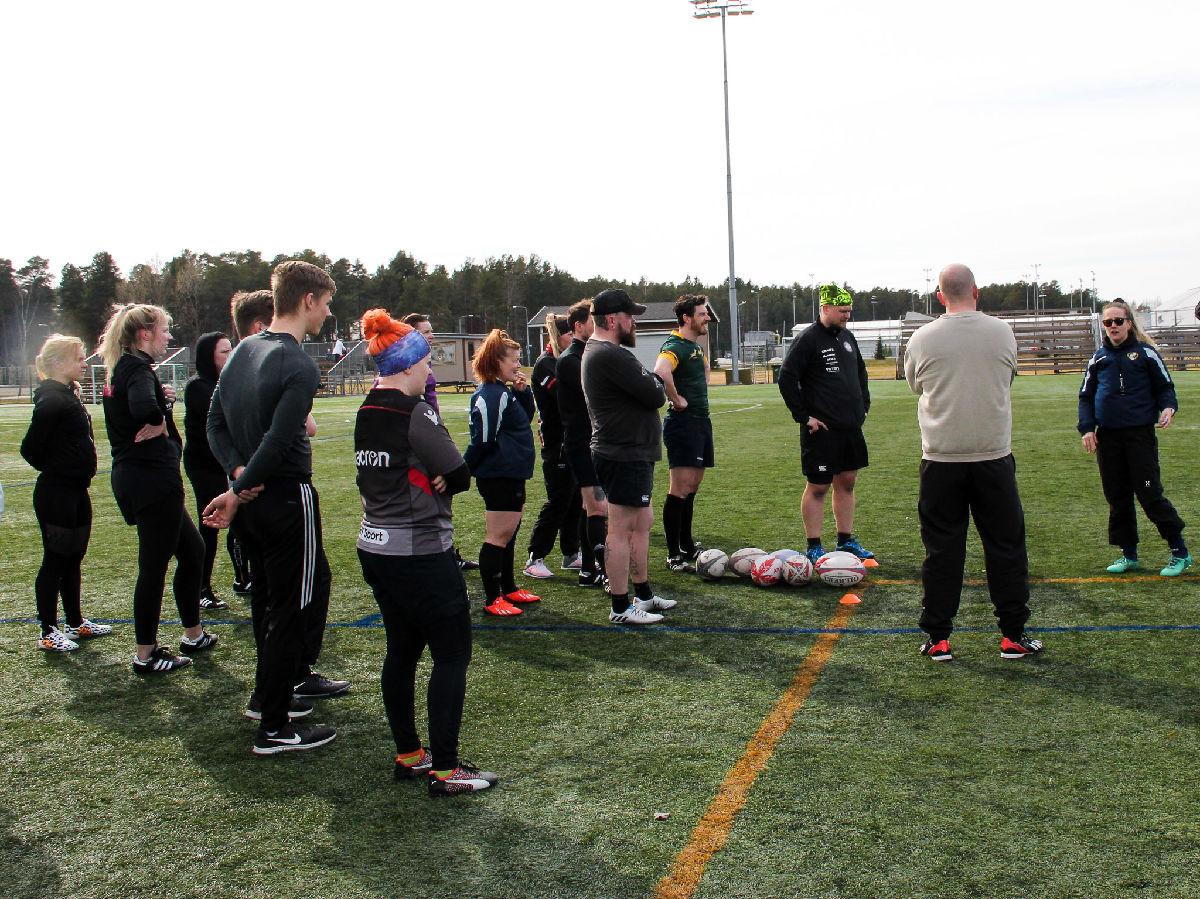 Rugbyn Alkeiskurssi 18.5 - 27.5.2021
