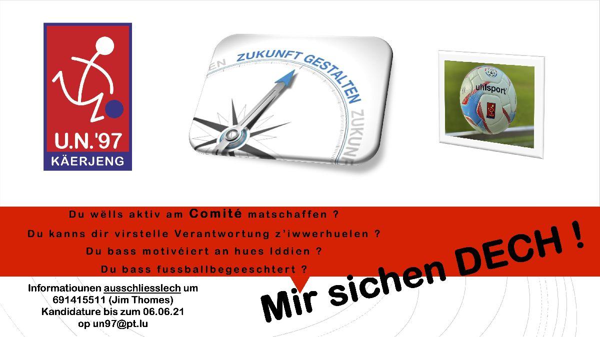 *** Comité UNK - Mir sichen DECH ***