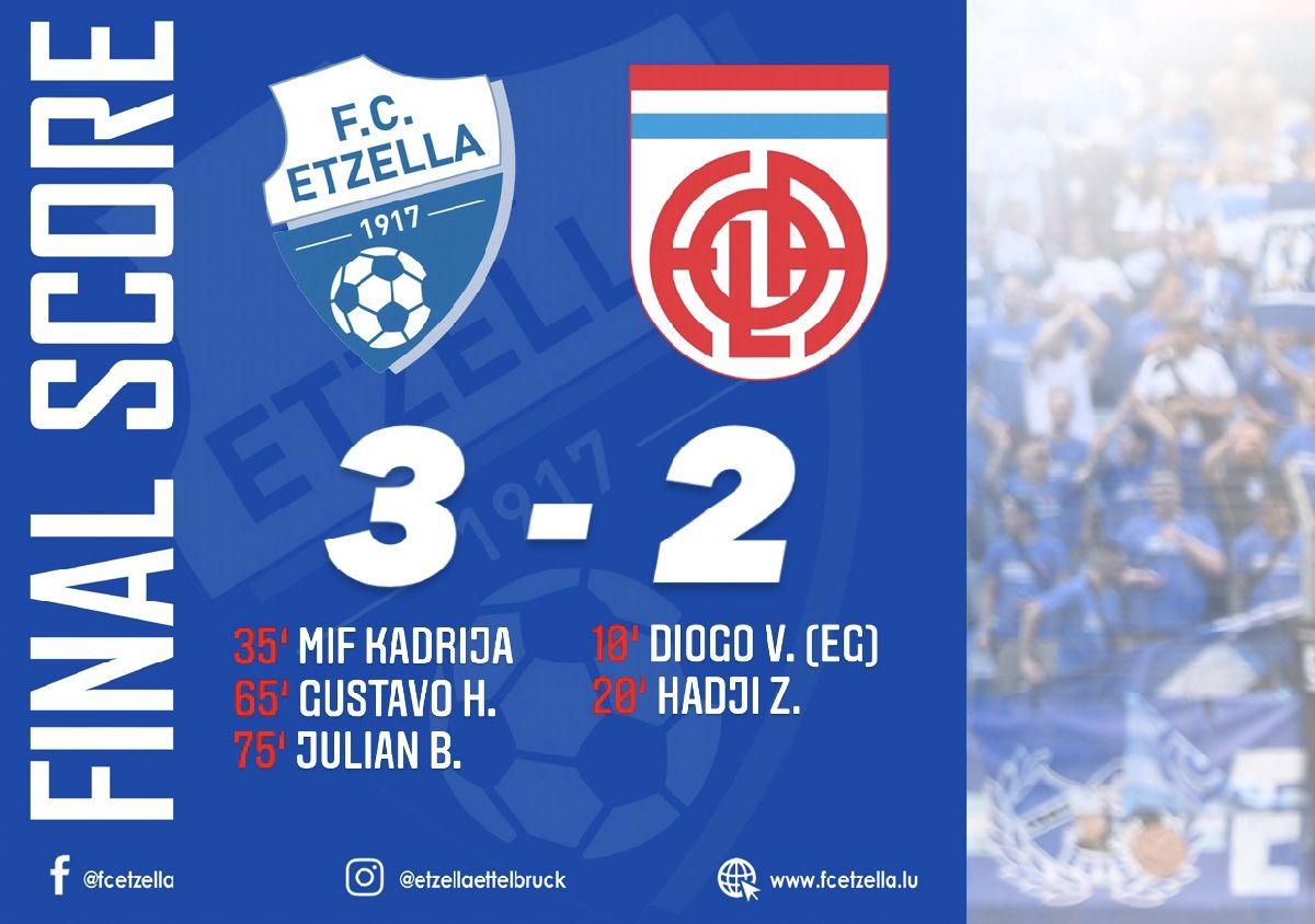 FC Etzella 3-2 CS Fola Esch