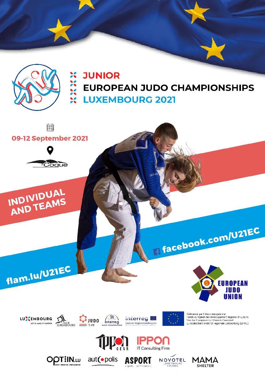 Junior European Judo Championships Luxembourg 2021
