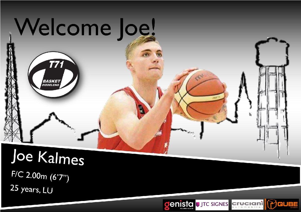 Joe Kalmes joins T71