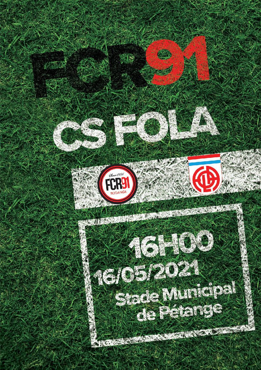 FC Rodange 91 - CS Fola Esch