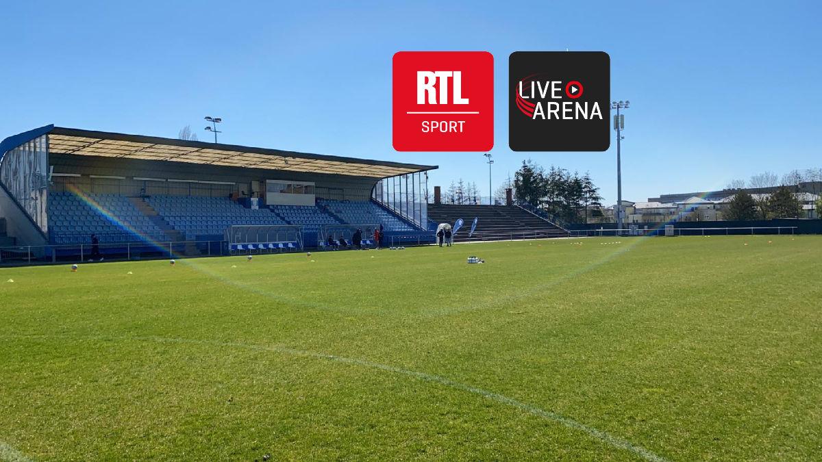 RTL Sport Live Arena : les matchs du Racing à domicile en Livestream