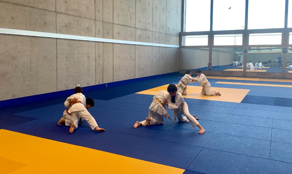 Judo ënner