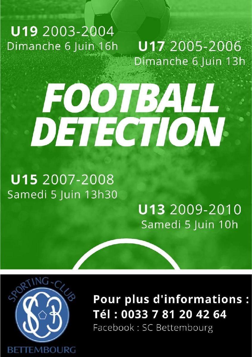 Détection Football SC Bettembourg