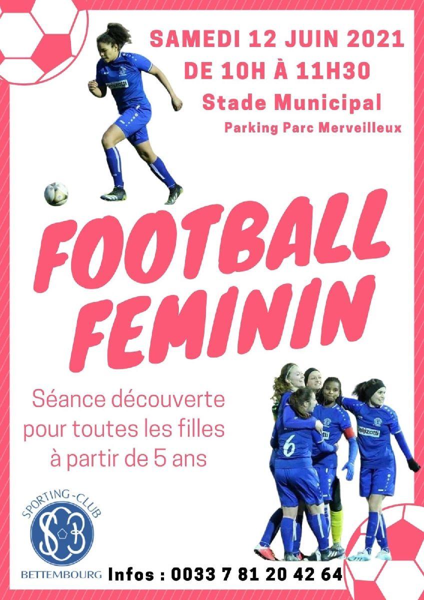 SC Bettembourg Journée Découverte Football Féminin