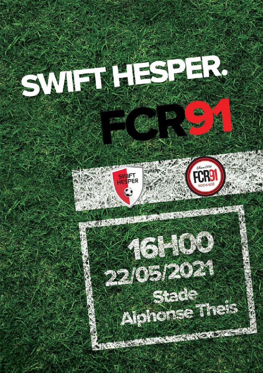 Swift Hesperange vs FC Rodange 91