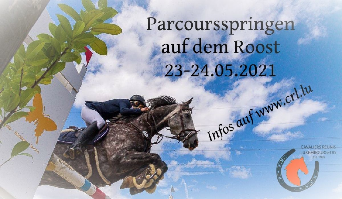 Starterlisten Parcoursspringen 23-24.05.2021