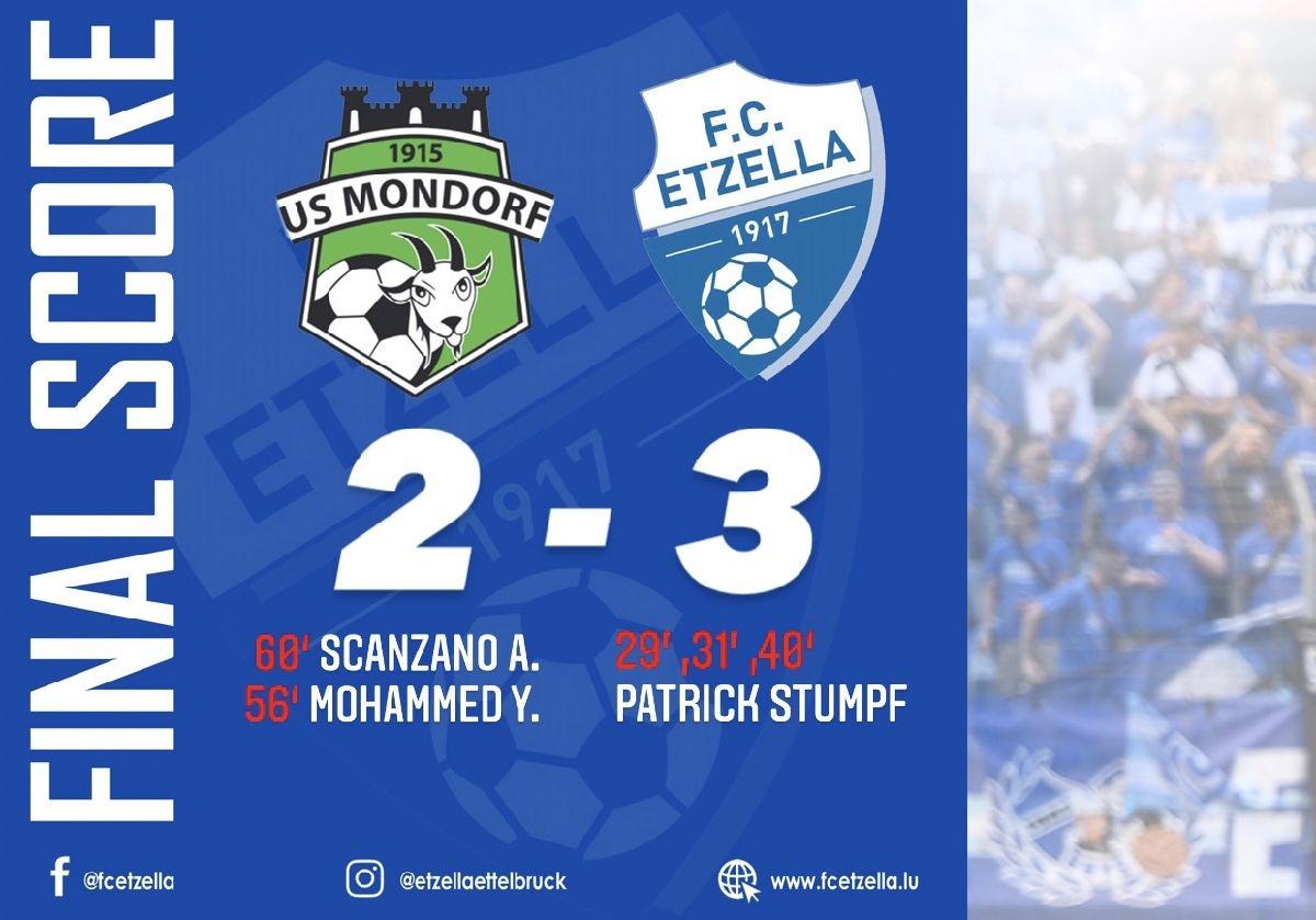US MONDORF 2-3 FC ETZELLA