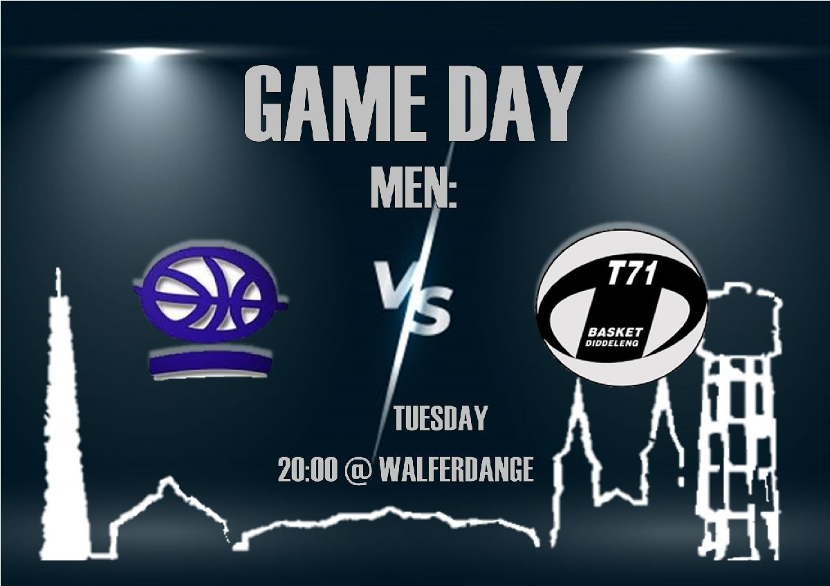 Tickets for Men's game in Walferdange