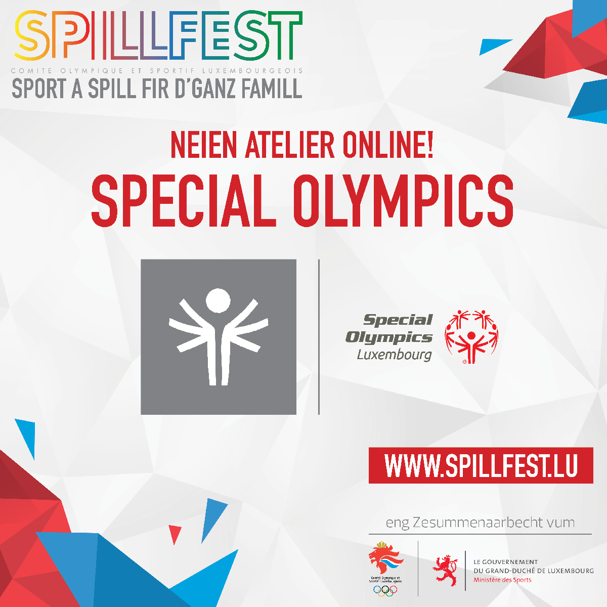 Special Olympics Luxembourg goes COSL Spillfest