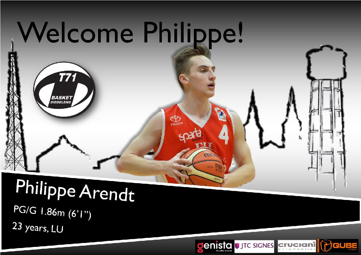 Philippe Arendt joins T71