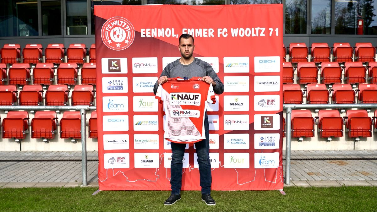 Welcome to Wiltz, Dusan Crnomut!