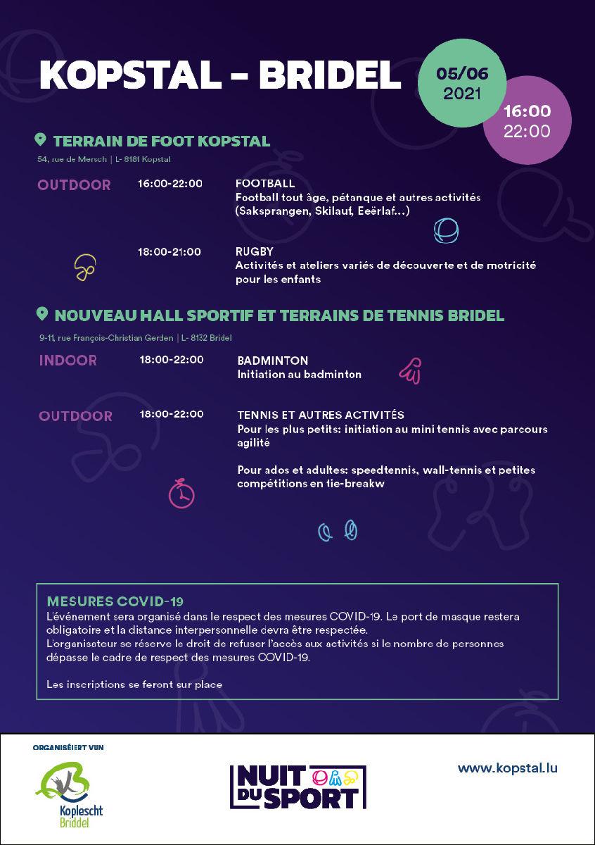 Nuit du Sport 2021