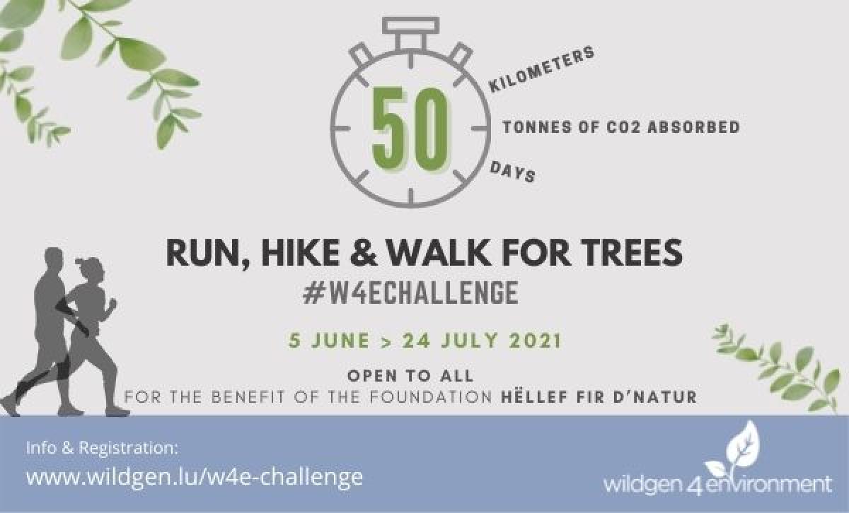 Run, Hike & Walk Challenge for Trees