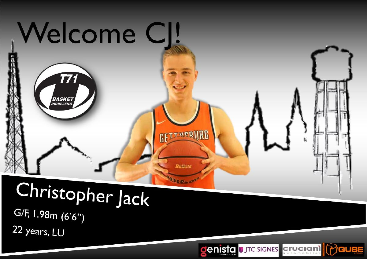Welcome CJ!