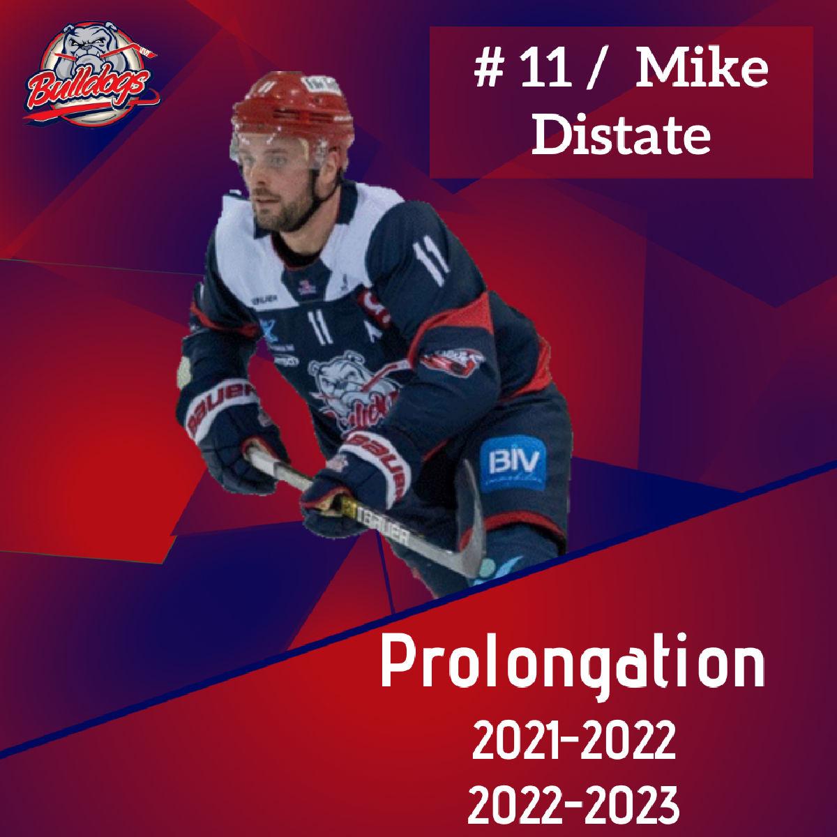 Mike Distate prolonge avec les Bulldogs de Liège jusqu'en 2023