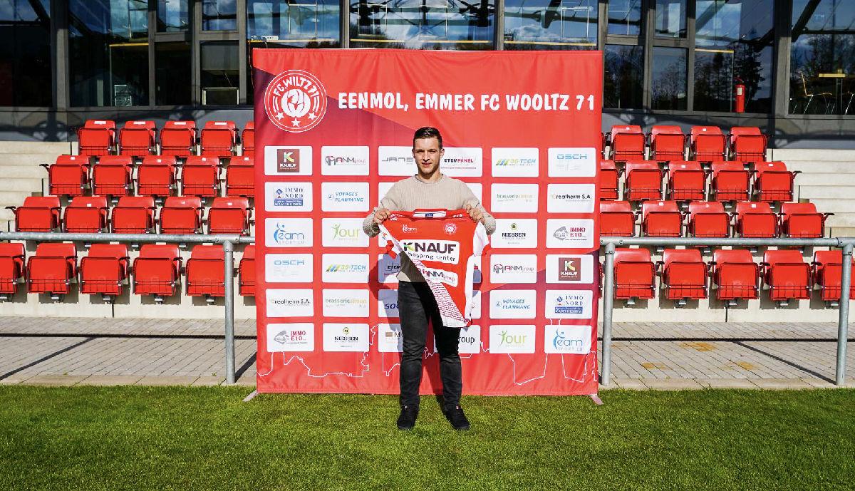 Welcome back to Wiltz, Haris Faljic