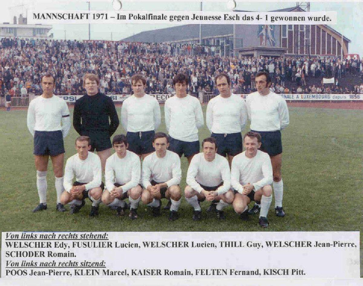 *** 50 Joer - F.C. Jeunesse Hautcharage Coupe de Luxembourg ***